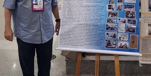 Presidente da Fundação Vingt-un Rosado é premiado no Ceará